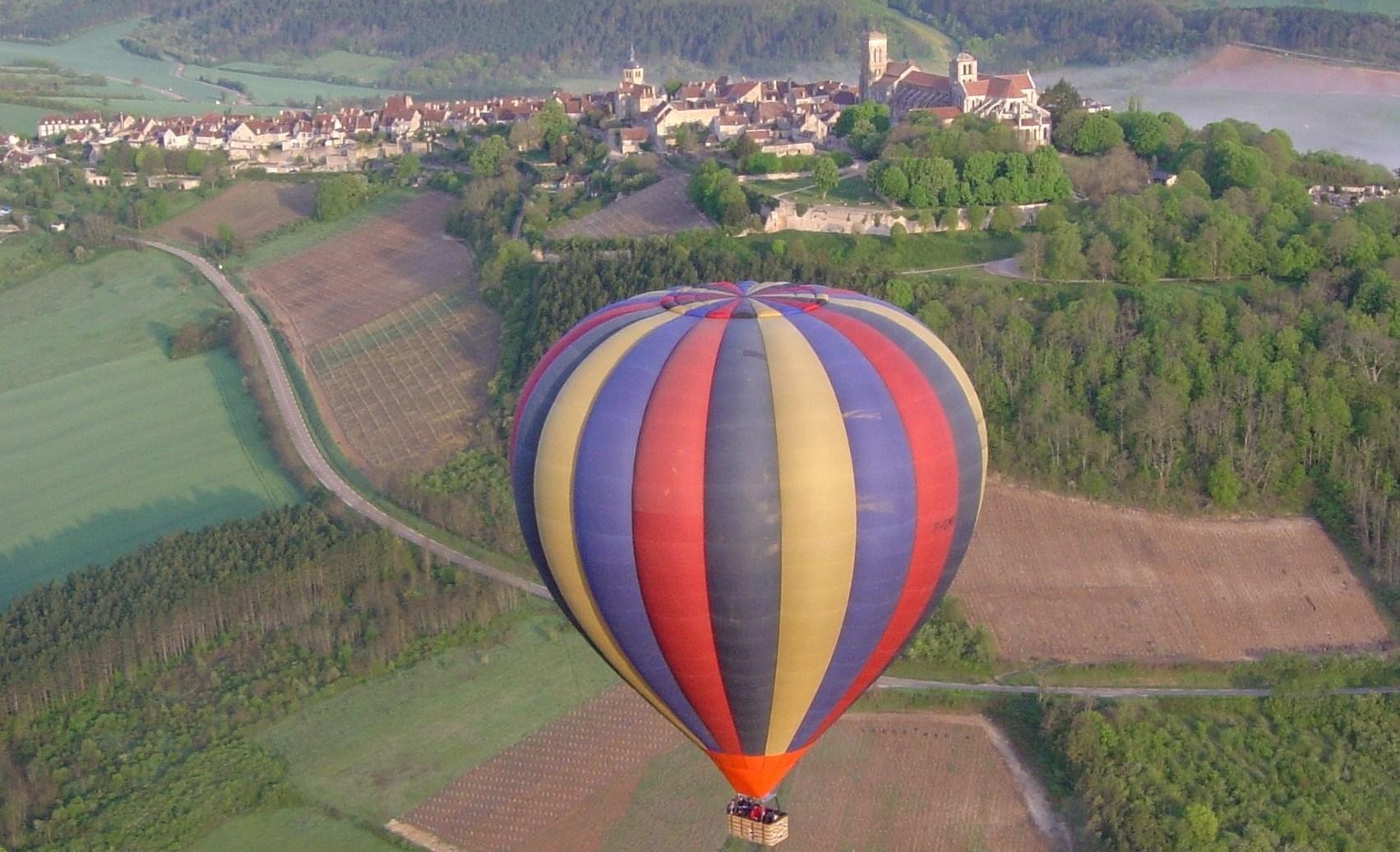 Activités ludiques montgolfiere