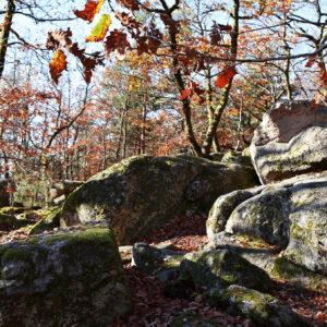 la roche aux fées de Quarré